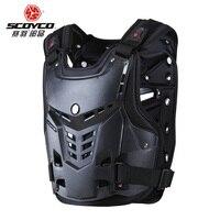 Scoyco высокое Класс мотоциклы мотокросс грудь и назад протектор Броня жилет Гонки Защитный корпус гвардии Броня защиты