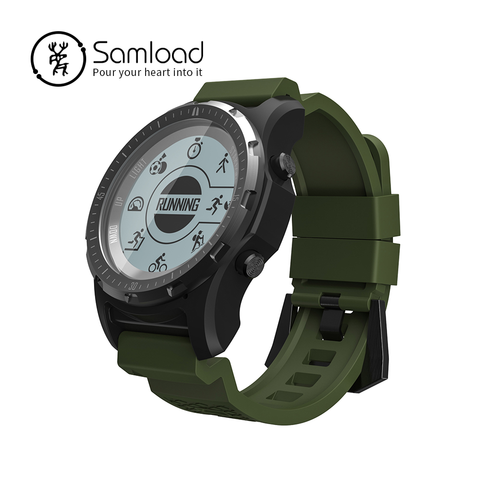 S966 Smart watch GPS Compass Band Running Fitness Tracker Passometer Heart Rate Tracker For IOS Xiaomi iPhone 7 8 Android phone все цены