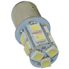 цена на 10pcs 1156/1157 BA15S P21W 13 SMD  led 1157 5050 13smd Brake Tail Turn Signal Light Bulb Lamp white Auto led Car bulb light 12V