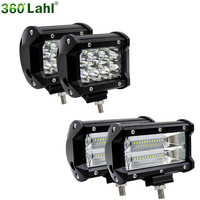 5 Inch 36W 72W Motorcycle Car Fog Lamp Work Light Led 4x4 The Searchlight Bar For