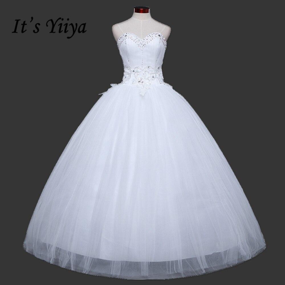 Free Shipping Sequins Bling Sweetheart Lace font b Wedding b font Dresses Cheap White font b