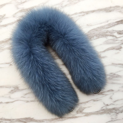 55cm Replacement Bag Strap Genuine Real Fox Fur Handbag Should Straps Handle For Women Purse Belts Charm Winter Accessories R25