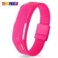 SKMEI женские спортивные 1099 часы женские Беговые цифровые часы Силиконовые часы ремешок Время Дата девушки женские наручные часы Relogio Feminino