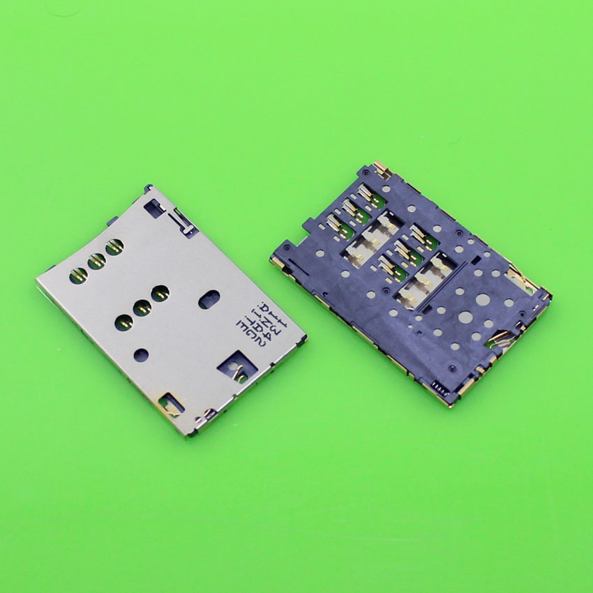 ChengHaoRan 1 piece High quality sim card reader holder socket connector for Nokia C2-03 2060 C2-06 replacement.KA-102