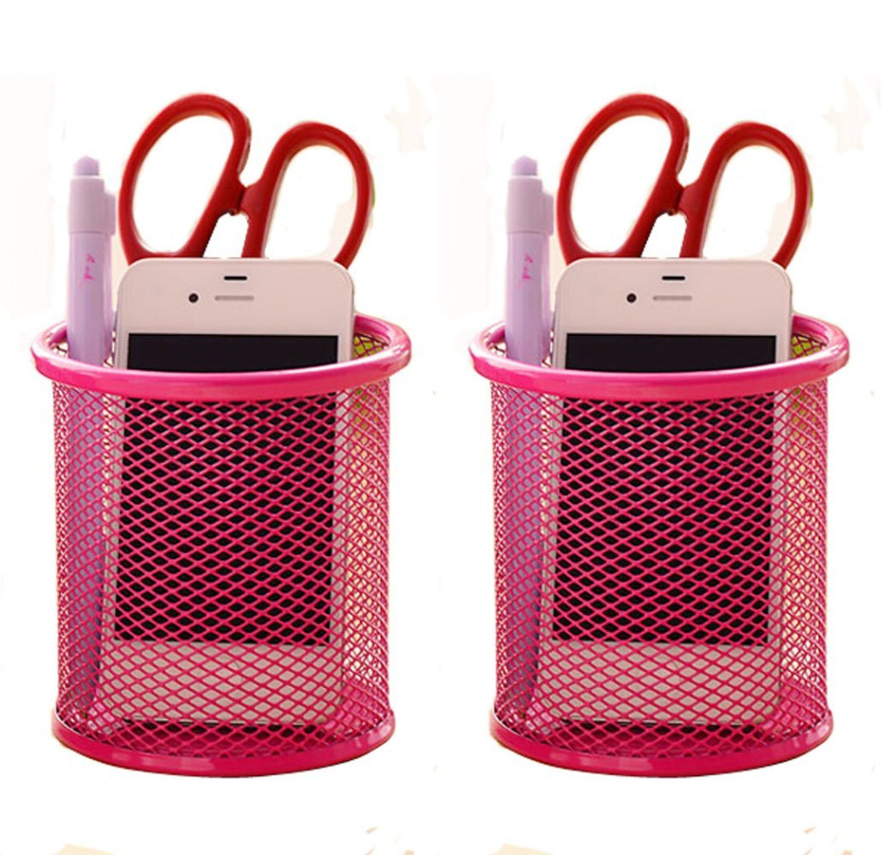 Cool Pink Pencil Holder For Desk Home Interior And Landscaping Sapresignezvosmurscom