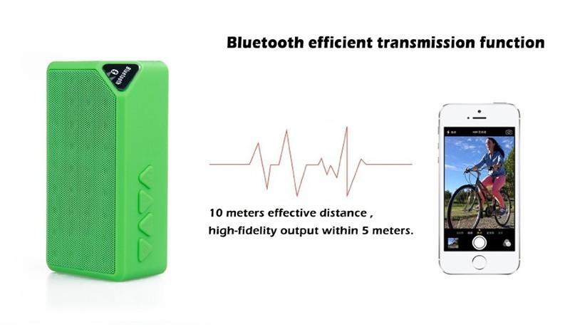 Bluetooth Speakers Wireless Bluetooth Speaker Mini Portable Magic Cube Bluetooth Speaker Bass blue normal 6