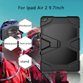 For Ipad Air 2 9.7Inch Tablet Case, Rugged Shockproof With Kickstand Silicone Tablet Cover Case For ipad Air 2 9.7'' Tablet PC