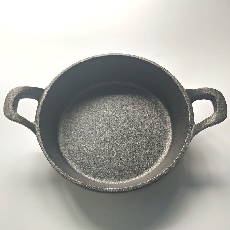 Cast Iron Non-Stick Double Handle Frying Pan