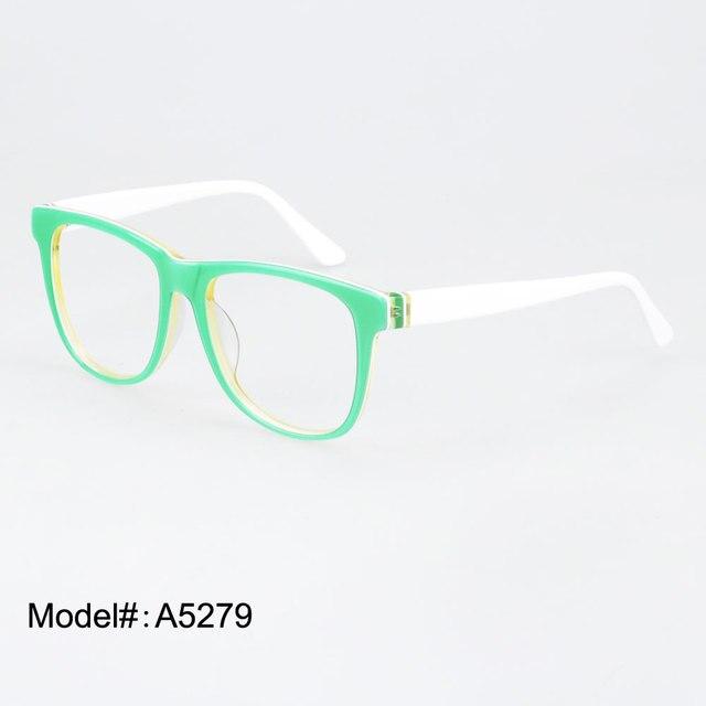1f6e48965281a A5279 factory wholesale spring color Full Rim Glasses myopia eyeglasses  eyewear RX optical frames