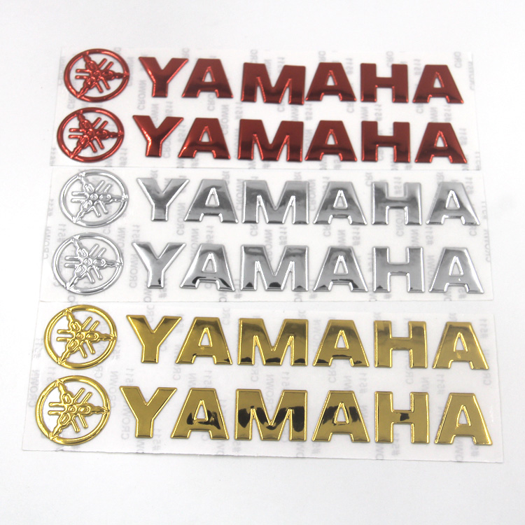 Motorcycle bike Sticker Decal for YAMAHA LOGO YZF R1 R6 R3 R25 1000 600 TMAX 500 530 MT 01 07 09 FZ6R XJ9 FJR 1300 FZ8 FZ1 FZ6 motorcycle accessories brake line clamp red for yamaha t max 530 tmax 500 mt 01 mt 07 mt 09 mt 09 tracer r1 r6 r125