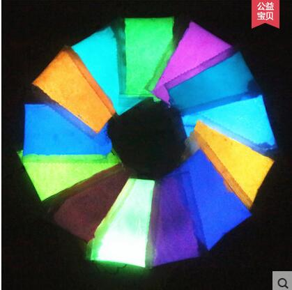 Glow In Dark Beauty Nail Powder Pigment,luminous Face Pigment UV Powder Fluorescent Acrylic Gel Paint  Mix With 13colors