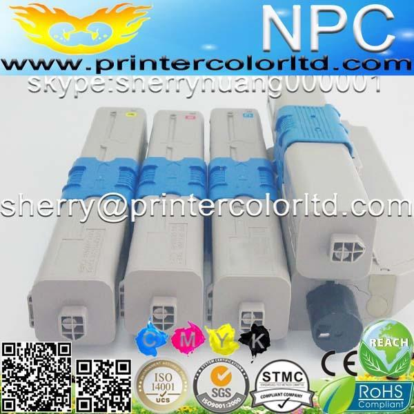 top New & HOT sales !! Compatible Toner Cartridges For OKI C301 C301N C321 C321N KCMY 4pcs/Lot premium quality-free shipping