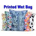 Lavable reutilizable de tela del pañal mojado bolsa / impermeable deporte de la nadada Carry viajes bolsa / de gran tamaño : 40 X 30 cm bolsa para pañales del bebé del bolso del panal