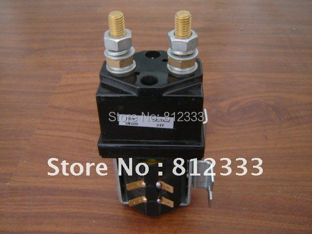 SW200 24V DC Contactor ZJW400D For Albright SW200 281 24V Contactor Type Golf Cart Pallet Truck Forklift Contactor-in Converters & Inverters from Automobiles & Motorcycles    1