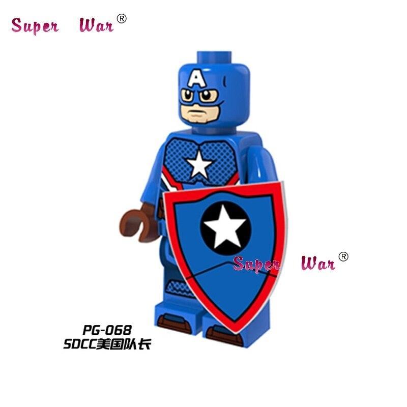 Ambitious Single Sale Star Wars Superhero Marvel Ideas Sdcc Captian America Building Blocks Action Model Bricks Toys For Children Blocks