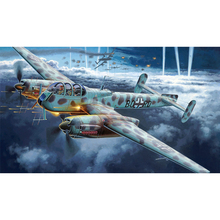 Full Square Drill 5D DIY German reconnaissance aircraft diamond painting Cross Stitch 3D Embroidery Kits home decor H67