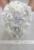 Hortensias blancas gota broche bouquet wedding los ramos nupciales cristalinos de la lágrima de Plata estilo Ramo de la Novia de La Perla de las borlas decoración