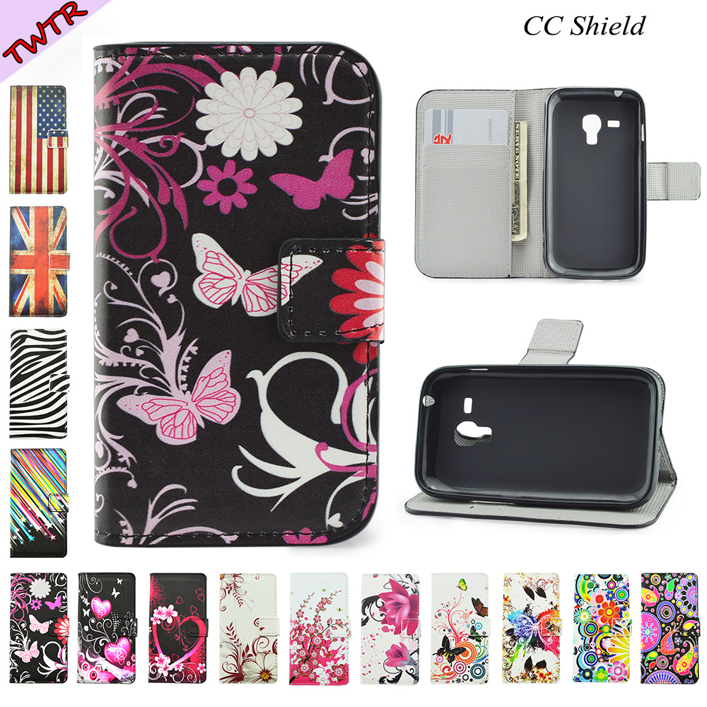 Flip Case for Samsung Galaxy S Duos 2 S7582 S 7582 GT ...