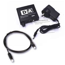 L/R RCA 3.5mm Audio Adapter Digital to Analog Converter Volume Control Digital Optical Coaxial Toslink to Analog Stereo