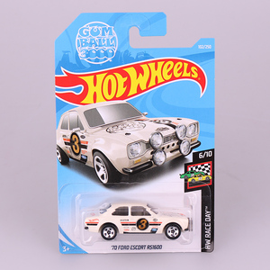 Hot Wheels 1:64 Car 70 FORD ESCORT RS1600 Collector Edition Metal Diecast Cars Collection Kids Toys Vehicle For Gift