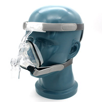 Nasal Mask for Sleep Snoring and Apnea CPAP Sleep Mask with Headgear S/M/L Suitable For CPAP Machine Connect Hose and Nose