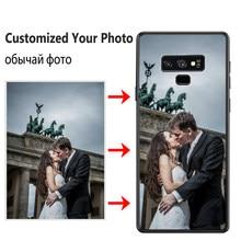 Caixa Feita Sob Encomenda Para Samsung Galaxy S6 JURCHEN S7 Borda S8 S9 S10 Lite S20 Ultra Nota 8 9 A6 A7 A9 J4 J6 J8 Mais Caso com Foto Personalizado