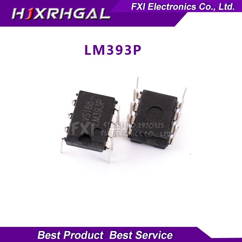 10PCS LM393P LM393 DIP8 DIP LM393N 393 new original free shipping