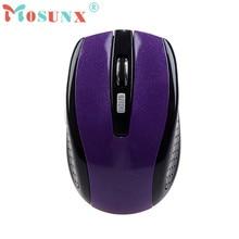 Mosunx Advanced 2017 Mini Wireless Mini Bluetooth 3.0 6D 1600DPI Optical Gaming Mouse Mice for Laptop 1PC