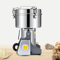 JamieLin Househole Electric Food Crops Mill High speed Flour Mill Machine Stainless Steel For Spices/Corn/Soybean