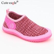 Милый Орел 2019 брендовая Весенняя модная детская обувь для маленьких девочек мягкая обувь для мальчиков Нескользящая Детская Повседневная пляжная обувь