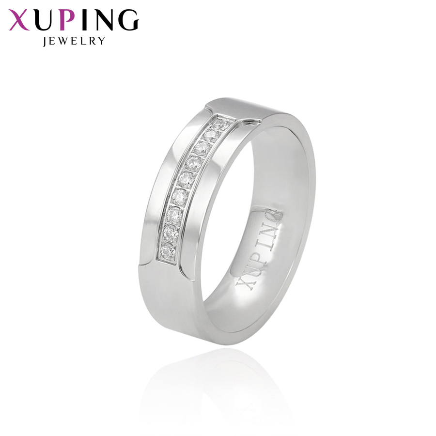 Xuping Luxury Simple Rings Popular Design Charm Style For Girl Women Valentine's Jewelry Gift S76-14994