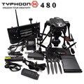 Yuneec Tufão H 480 PRO RTF FPV Zangão com Câmera HD 4 K rc quadcopter 3 aixs cardan vs dji fantasma 3 4 corrida de helicóptero zangão