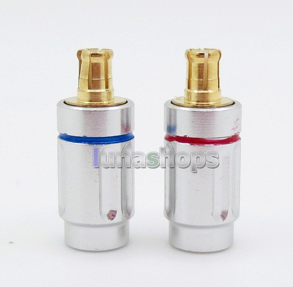 Aggressive Mcx Male Pin Plug For Audio Technic Cks1100 E40 E50 E70 Straight Shape Diy Connector Beneficial To The Sperm Portable Audio & Video Earphone Accessories