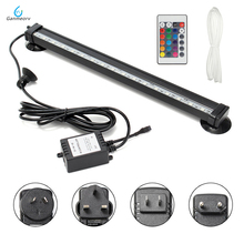 12cm 26cm 32cm 46cm DC12V RGB LED Aquarium Fish Tank Light Tube Bar Light Underwater Submersible Air Bubble Safe Lighting 46cm 18pcs led aquarium fish tank light tube bar light underwater submersible air bubble safe lighting us eu uk saa plug