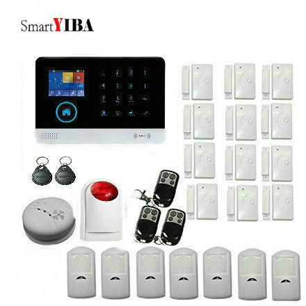 SmartYIBA Wifi APP Control Voice Prompt font b Alarm b font Systems Metal Remote Control Infrared