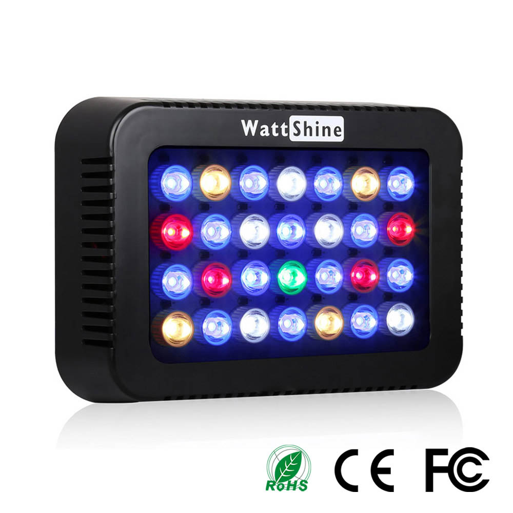 Aquarium led lighting Dimmable lamp Fish bowl light Marine Fish tank Coral lights High brightness Penetrating strong FCC CE ROHS (33)
