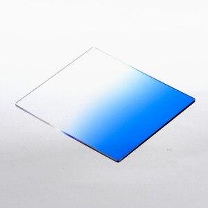 Image 5 - מלא ND 2 4 8 + הדרגתי כחול כתום אפור מסנן 49 52 55 58 62 67 72 77 82mm ערכת עבור Cokin P סט SLR DSLR מצלמה עדשה