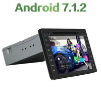 8 2GB RAM Android 7.1.2 Quad Core 1DIN Stereo Bluetooth Hands Free Car Multimedia Player Radio for Toyota Hilux 2016 2017 2108