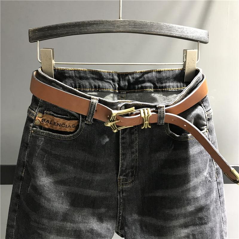 Fit Dama Mujer Alta Caliente Cintura Mujeres K449 Jeans Venta Negro Harem Pantalones De Denim Slim Para Casual 0HOxqv6n