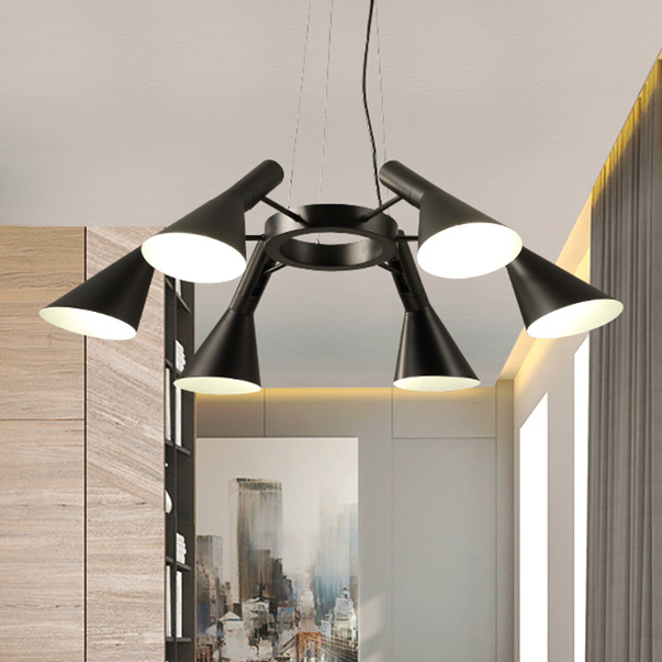 Modern hanging lamps dining room