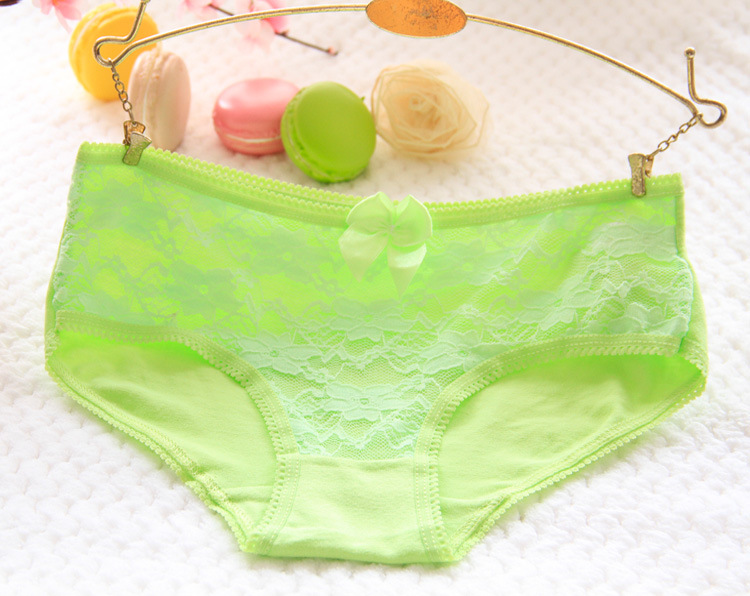 bce5f5295aff UNLIMON Women Sexy Cotton Cute Macaroon Panties Lady Lingerie Breathable  Panty One Piece Free Shipping Briefs