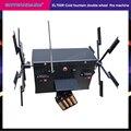 Máquina del sistema de encendido de la fuente fría de la batería del molino de viento de doble rueda del control remoto