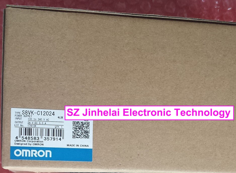 цена на 100% New and original  S8VK-C12024  OMRON  POWER SUPPLY MODULE   120W INPUT:100-240VAC OUTPUT:24VDC 5.0A