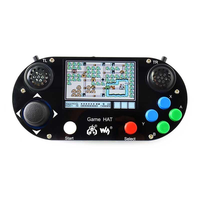Raspberry pi 3b + jogo lcd 3.5 polegada hdmi lcd gamepad a bordo para raspberry pi 2b zero w retropie com caso