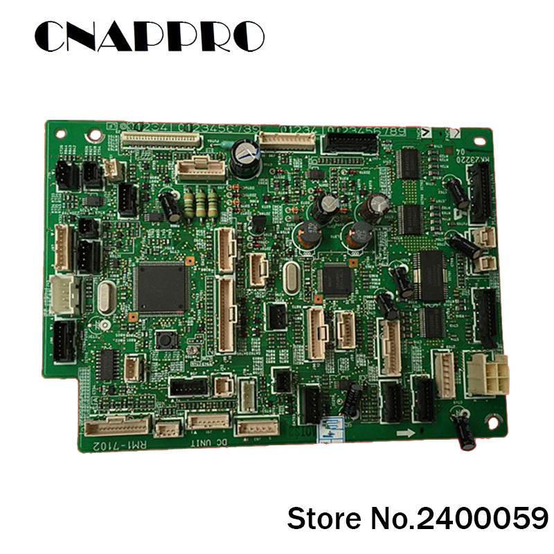 1PC/lot RM1-7102 RM17102 DC Controller Board Panel Assembly For Hp Laser Jet LJ M 4555 M4555 MFP M4555MFP Genuine Printer romanson rm 9207q lj gd