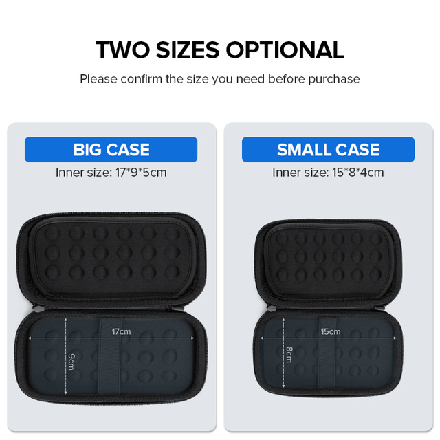 Big and Convenient Hard Case for Accessories