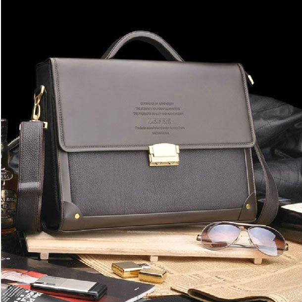 Hot sale fashion composite leather briefcase,high quality Laptop bag men,free shipping 14 notebook bag for computer proctection карабин монтажный с гайкой 140х12мм