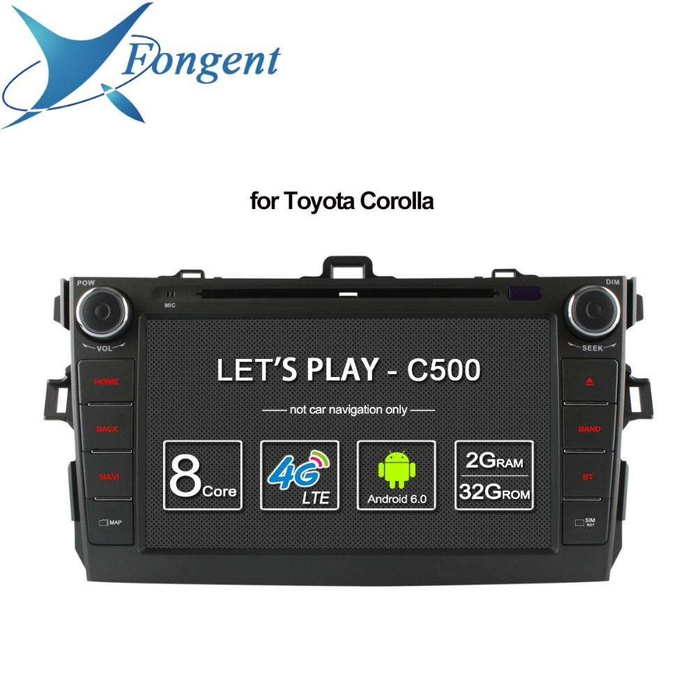for <font><b>Toyota</b></font> <font><b>corolla</b></font> 2007 2008 2009 2010 <font><b>2011</b></font> Car Intelligent <font><b>Multimedia</b></font> Radio dvd player gps navigator Vehicle Android Unit DAB+ image