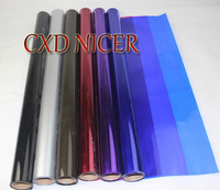 High Grade Flowers Gift Wrapping Paper Material Transparent Color Cellophane Plastic Paper Crystal Film Roll Dd932