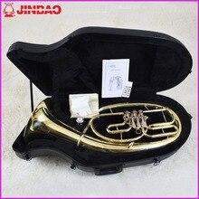 Mall echten musical instrument klänge Jinbao lizenzierung JBBR-1210 flache tasten Euphonium lebenslange garantie